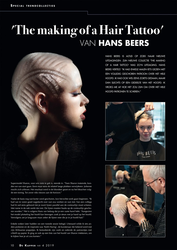 The Making of a Hairtattoo Publicatie Vaktijdschrift De Kapper #1_150