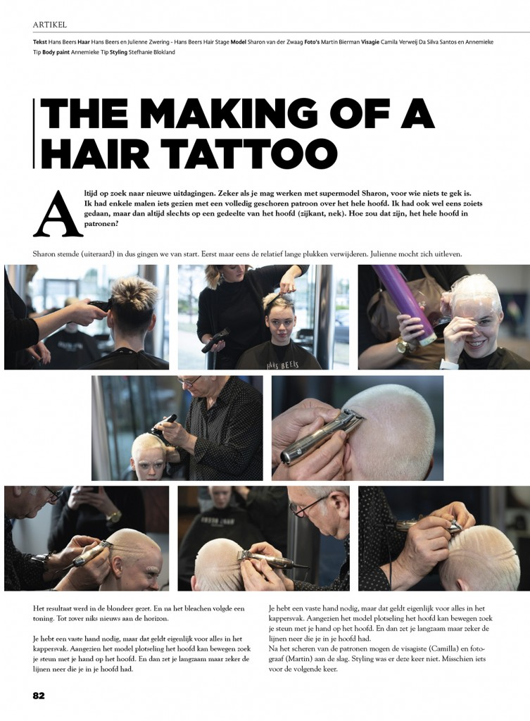 TopHair The Making of a Hairtattoo #1 _ 150